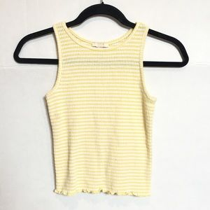 Forever 21 girls striped tank top